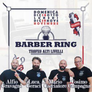 Barber Ring, domenica e lunedì 100 barber d'Italia in gara a Palermo