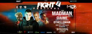 FIGHT Festival Round 2 at MOB con Madman, Giaime e Othelloman