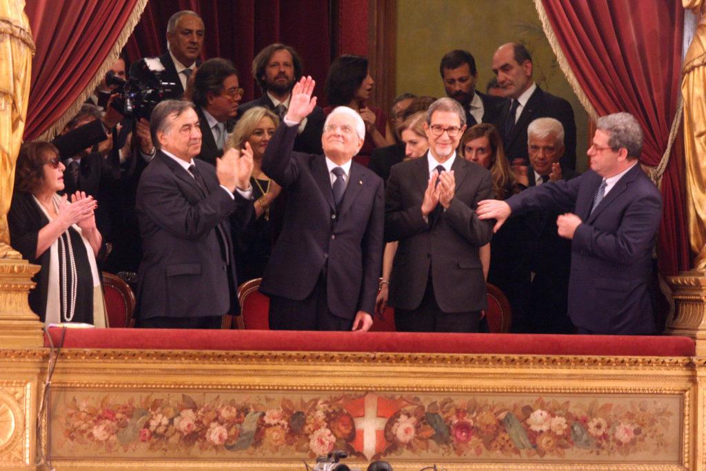 Presidente Mattarella al Teatro Massimo