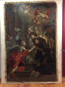 Ritrovato a Catania dipinto rubato nel '90 raffigurante San Bonaventura