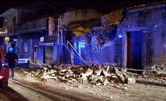 Forte scossa di terremoto nel catanese