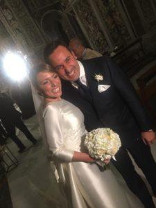 Matrimonio Natale Giunta, lo chef ha sposato oggi la sua Valeria Egle