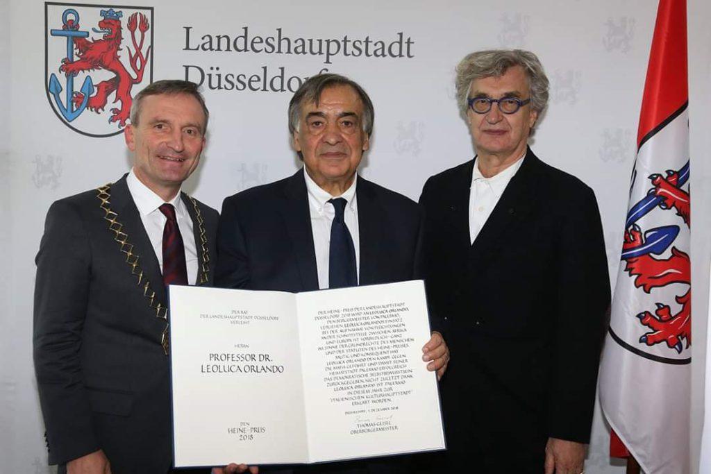Premio Heinrich Heine a Leoluca Orlando