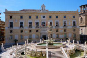 Restauro Palazzo delle Aquile: Comune di Palermo si rifà il trucco