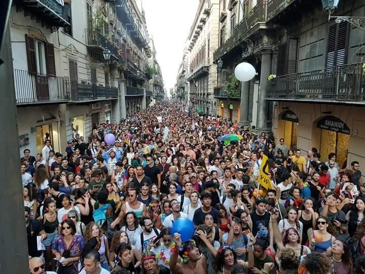 Palermo Pride Parade 2019