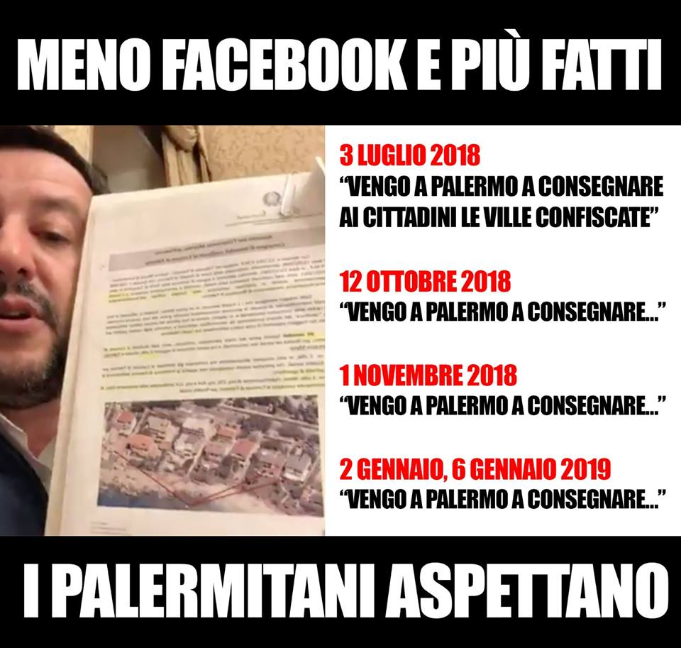 Orlando a Salvini