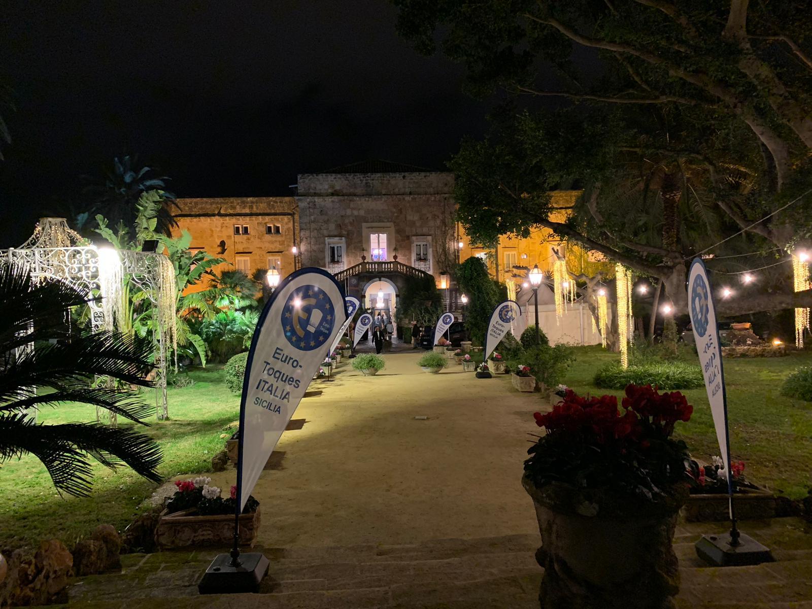 Serata di gala a Palermo