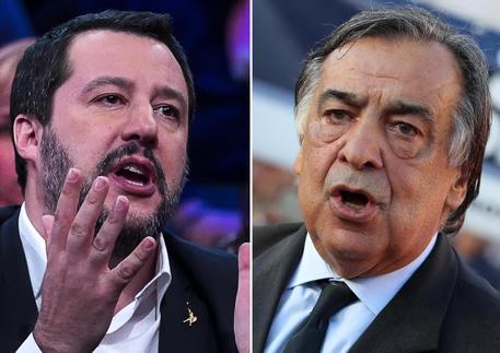 Orlando sfida Salvini