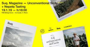 "Fud Bottega Sicula Milano ospita l'evento ""Unconventional Sicily"""