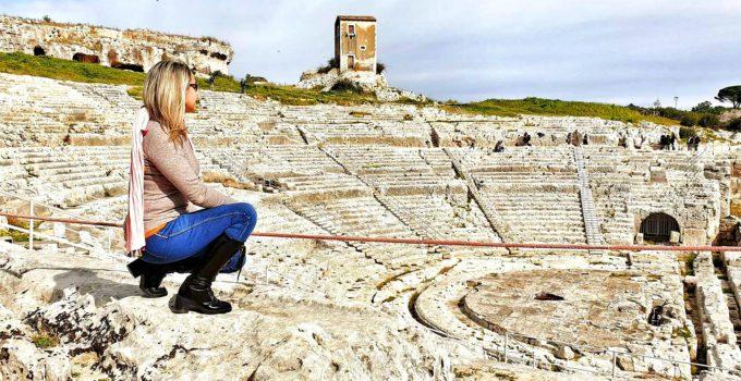 Travel blogger a Taormina e Siracusa