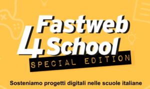 Fastweb4School Special Edition anche in Sicilia: progetti innovativi