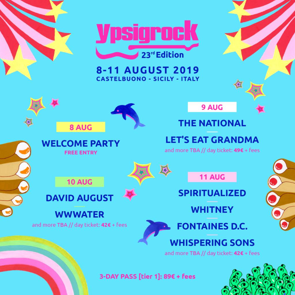 Ypsigrock 2019