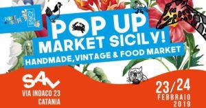 Catania: l'edizione del Pop up Market è un'esplosione di sicilianità