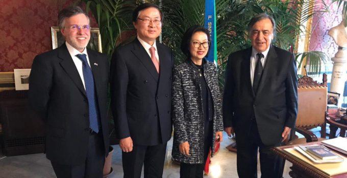 Ambasciatore coreano a Palermo