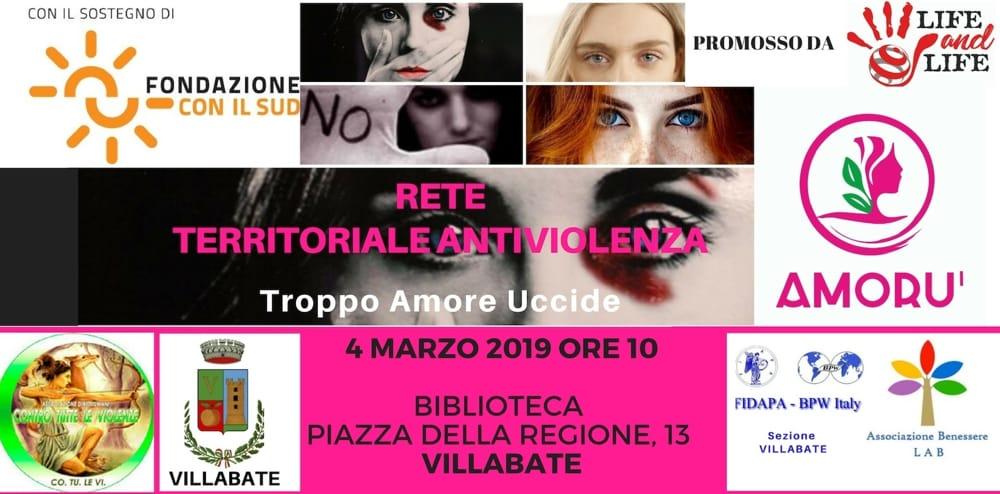 Rete Antiviolenza Amorù a Caccamo