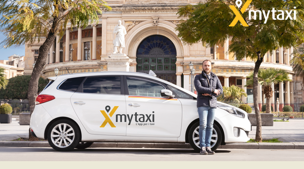 Mytaxi arriva anche a Palermo