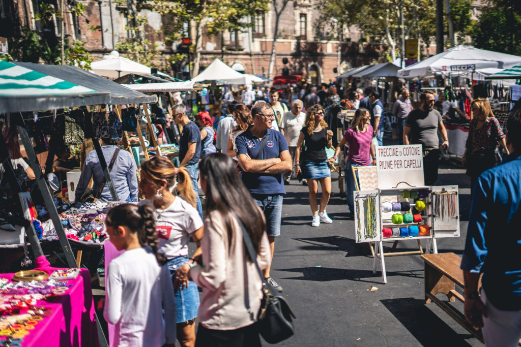 Pop up Market Sicily a Catania