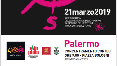 XXIV Giornata memoria a Palermo