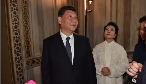 Xi Jinping a Palazzo Reale
