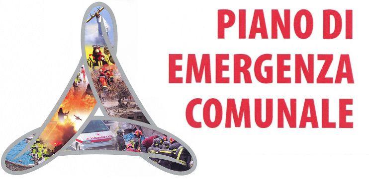 Aggiornamento piani emergenza Comuni