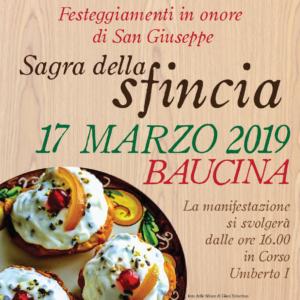 Sagra della sfincia a Baucina: si celebrano i prodotti tipici