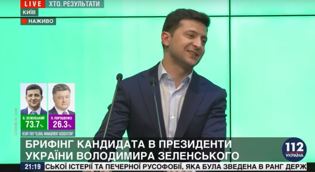Nuovo Presidente Ucraina