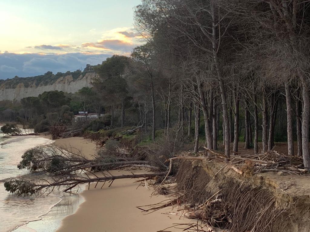 Recupero delle coste siciliane