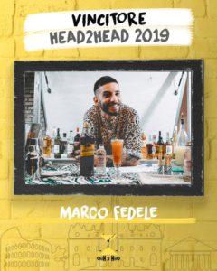 Barman palermitano Marco Fedele vince la 5°edizione della HEAD TO HEAD