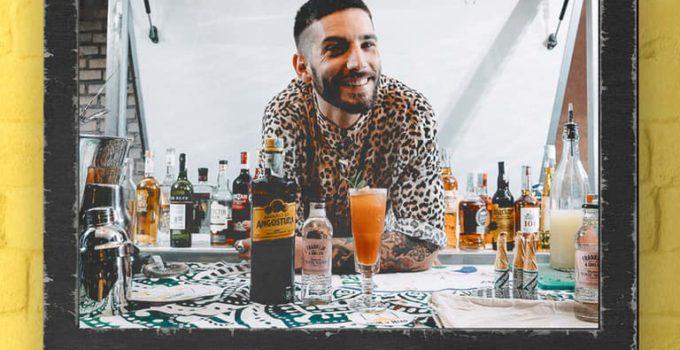Barman palermitano Marco Fedele