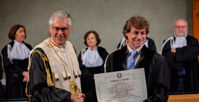 Alberto Angela Laurea Honoris Causa