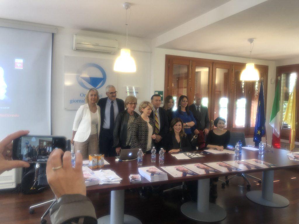 Giornalisti e Progetto Manarini a Palermo