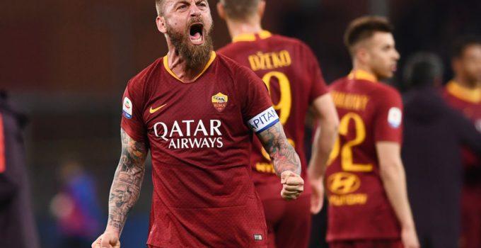 De Rossi lascia la Roma