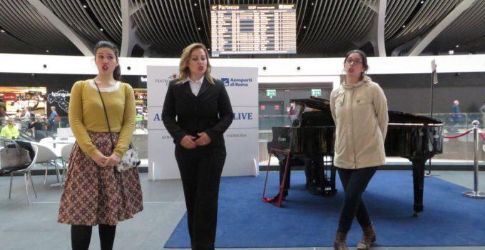 Airport opera live