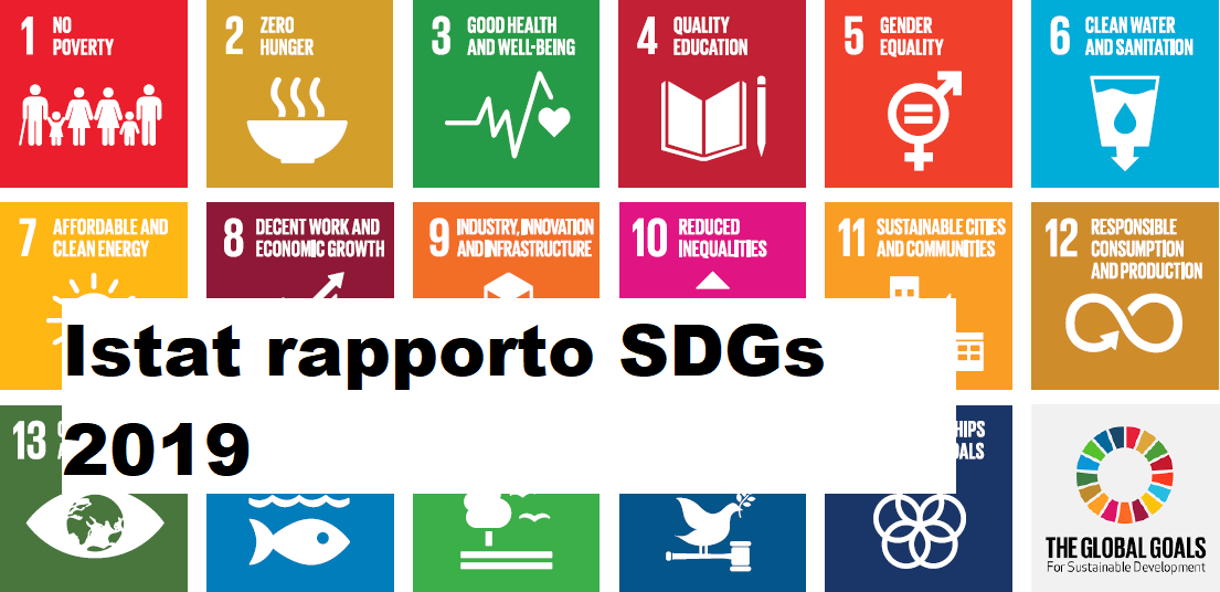 Istat rapporto SDGs 2019