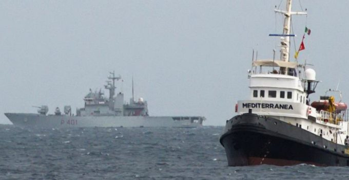 Sbarco migranti a Messina