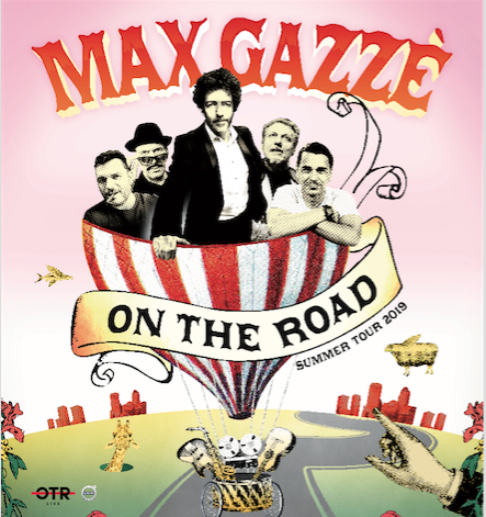Max Gazzè on the road