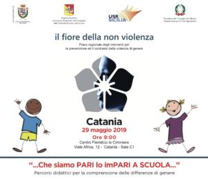 Kit scuola contro violenza di genere a Catania: Scavone e Pogliese