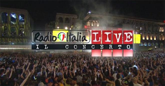 Concerto Radio Italia a Palermo