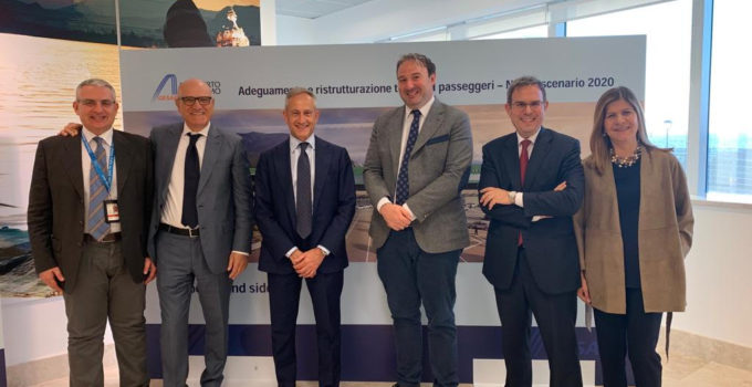 Ampliamento terminal Falcone-Borsellino