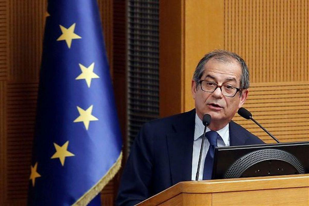 Tria: 'Sono ottimista su procedura Ue'