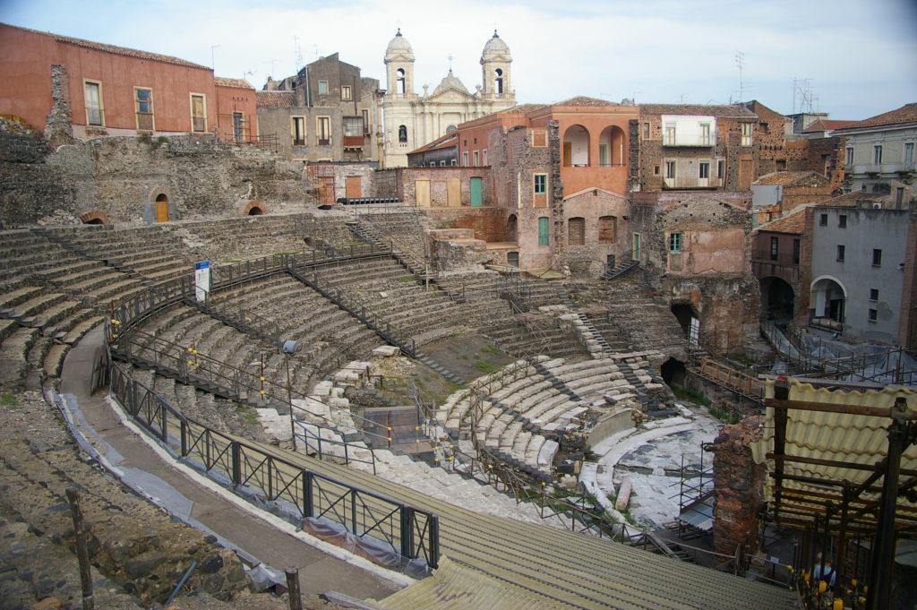 Riapre anfiteatro romano di Catania