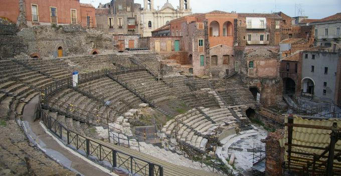 Anfiteatro romano a Catania