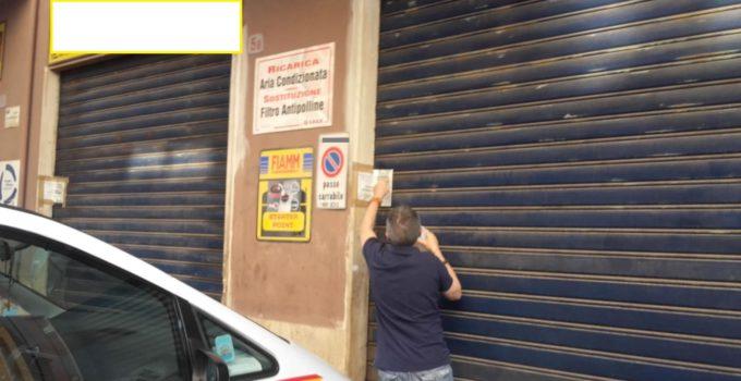 Officina abusiva a Palermo