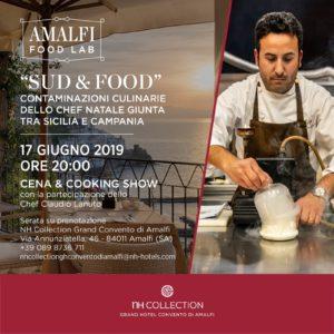 Chef Natale Giunta protagonista a Sud & Food, tra Sicilia e Campania