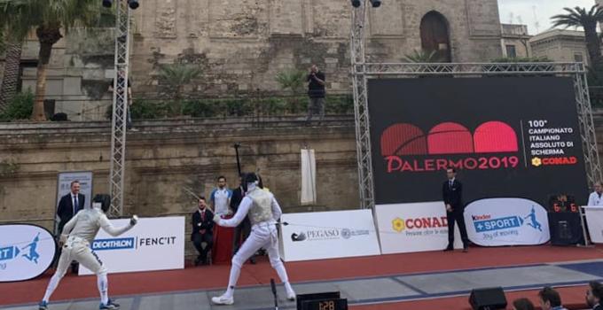 Campionati scherma Palermo