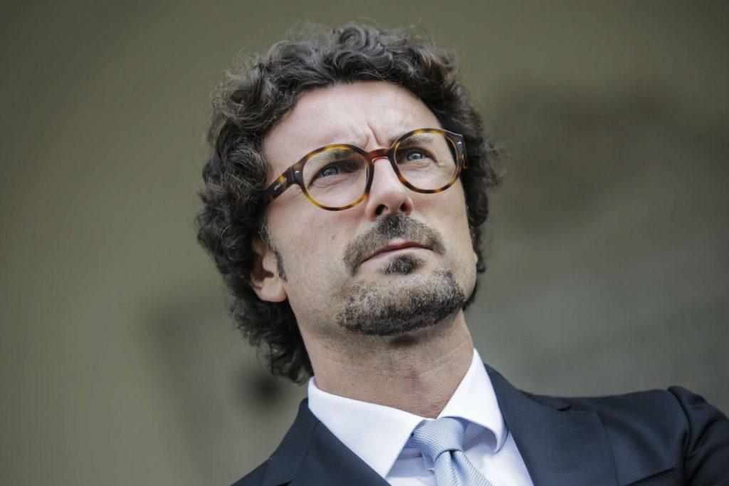 Ministro Toninelli a Palermo