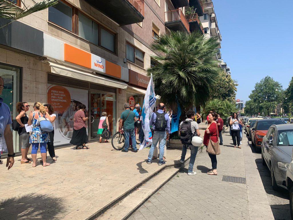 Crisi Almaviva Palermo