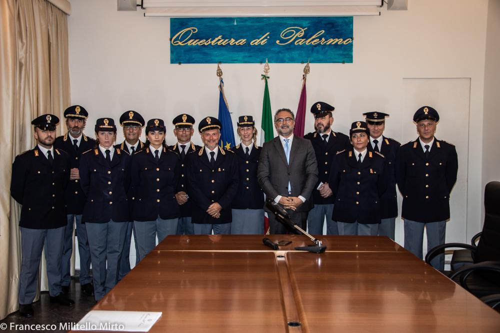 Nuovi distintivi di qualifica della Polizia