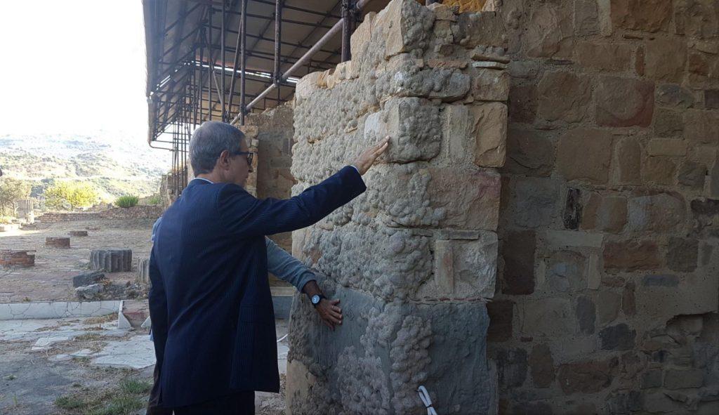 Scavi archeologici a Tusa