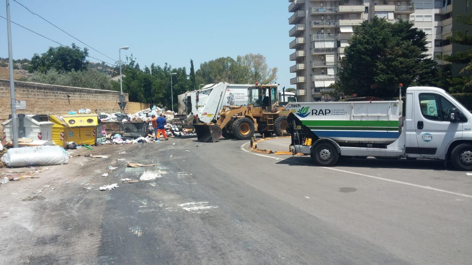 Raccolta rifiuti Palermo